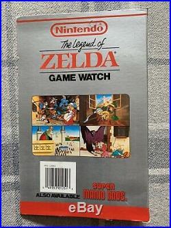 Legend of Zelda Game Watch Nintendo Nelsonic Unopened Sealed New 1989 Pink