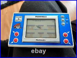 Manhole Nintendo Game & Watch