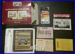Mario Bros MW-56 Vintage Game & Watch Boxed Nintendo Video Console 1983 Japan