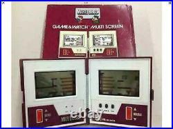 Mario Bros Nintendo Boxed Game and Watch Multi Screen Vintage Retro