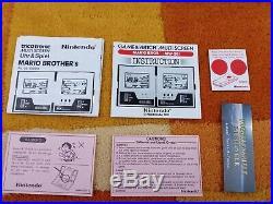 Mario Bros. Nintendo Game & Watch Multi Screen + Zubehörpaket OVP + Anleitung