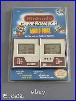 Mario Bros Nintendo Game & Watch New Blister