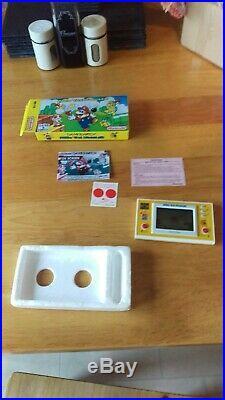 Mario the juggler Nintendo game and watch