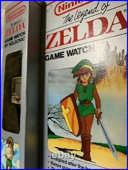 Mint In Box Working With Battery Nintendo Black Zelda Watch Game By Nelsonic