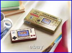 NEW MASTER CASE of 4 Super Mario Bros Game & Watch Nintendo 35th Anniversary And
