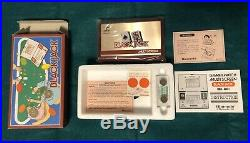 NEW NINTENDO GAME & WATCH BLACK JACK Still in cellophane package