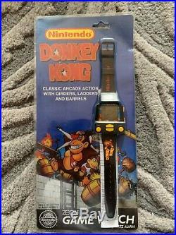 NEW Nintendo Donkey Kong Game Watch Wrist LCD Sealed RARE 1995 Vintage Unopened