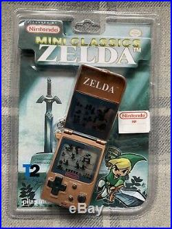 NEW Nintendo Zelda Mini Classic LCD Game Watch Link 1998 Unopened Sealed Rare