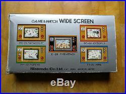 NINTENDO 1982 GAME AND WATCH TURTLE BRIDGE! Boxed