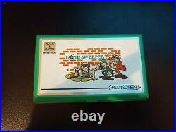 NINTENDO GAME AND WATCH BOMB SWEEPER Boxed with instructions BD-62