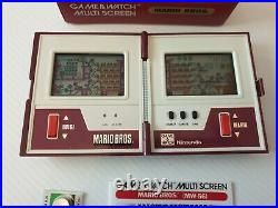 NINTENDO GAME AND WATCH MARIO COLLECTION 3 RETRO GAMES + 35 YEAR ltd UNIT