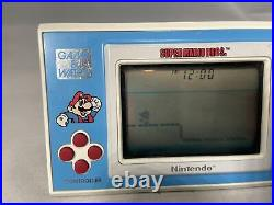 NINTENDO GAME AND & WATCH Super Mario Bros. Vintage 1988 YM-105 Working