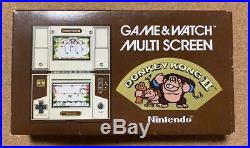 NINTENDO GAME & WATCH DONKEY KONG Multi Screen GAME AND WATCH Tested Boxed