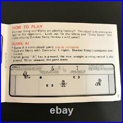 NINTENDO GAME & WATCH MICRO VS SYSTEM DONKEY KONG HOCKEY HK-303 ENGLISH ver. NEW