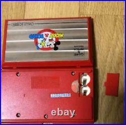NINTENDO GAME & WATCH Mickey & Donald Multi Screen Vintage Japan Free Shipping