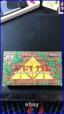 NINTENDO GAME & WATCH Zelda French Edition