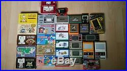 NINTENDO GAME & WATCH bundle boxed and loose