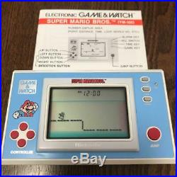 NINTENDO Game & Watch Super Mario Bros. Tested and works well Used