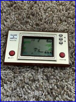 NINTENDO Parachute Game & Watch COMPLETE BOX TESTED/ WORKS