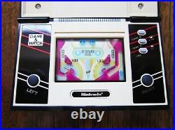NINTENDO Pinball Game & Watch PB-59 1982 in Very Good Condition