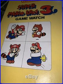 NOS Nelsonic Mint In Box Nintendo Mario 3 Game Watch