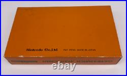 NOS Nintendo Game & Watch Multi Screen Donkey Kong DK-52 1982 MIB CIB NEW