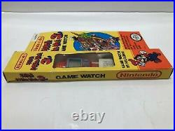 Nelsonic Nintendo RED Super Mario 3 Game Watch Boxed 1999