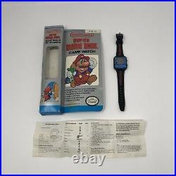 Nelsonic Nintendo Super Mario Bros Watch Game New Battery