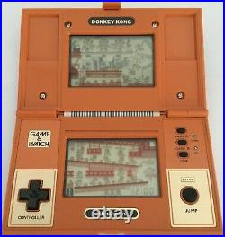 Nintendo Cgl Game & Watch Multi Screen Donkey Kong Mint Box Case Instruction