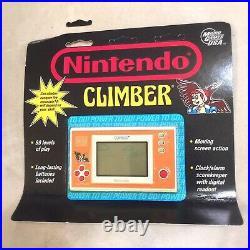 Nintendo Climber Game Watch Wide Screen English Version DR-106 Rare Retro New