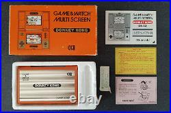 Nintendo Donkey Kong Game & Watch DK-52 Boxed and Near Mint