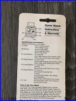Nintendo Donkey Kong Game Watch by Nelsonic Watch Co. New in package Nintendo