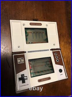 Nintendo Donkey Kong II 2 Game And Watch Multiscreen 1983 Tested- Works