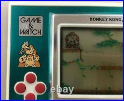 Nintendo Donkey Kong JR. Game Watch Handheld Console System Boxed
