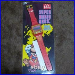 Nintendo FC Super Mario Egg Catch Game Wrist Watch McDonald's prize Retro Japan