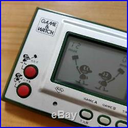Nintendo GAME&WATCH JUDGE Wide Screen console Vantage Rare Game in 1980 Japan