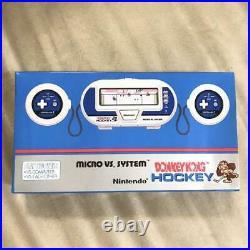 Nintendo GAME & WATCH MICRO VS SYSTEM Donkey Kong hockey HK-303 New Boxed Rare