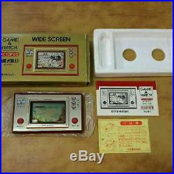 Nintendo GAME&WATCH OCTOPUS Wide Screen console Vantage Rare Game in 1981 Japan