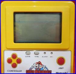 Nintendo GAME WATCH Super Mario Bros. Famicom Grand prix F1 Racing Prize RARE