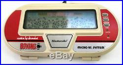 Nintendo Game And Watch Lot Of 10 Some With Manuals/boxes Panorama Handheld LCD