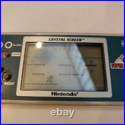 Nintendo Game And Watch YM-801 Crystal Screen RARE Super Mario Bros Unboxed