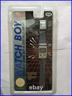 Nintendo Game Boy Gameboy Watchboy Watch Dmg Gbe002 Pal Ita Gig Nuovo New Sealed