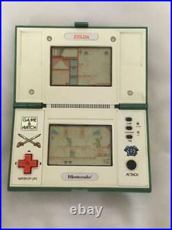 Nintendo Game Retro Zelda Game And Watch Multi Screens Rare Used F/s From Japan