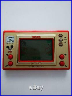 Nintendo Game & Watch Ball Disney Mickey Mouse Japanese retro handheld console