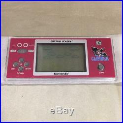 Nintendo Game & Watch Balloon Fight DONKEY KONG HOCKEY Crystal screen set rare