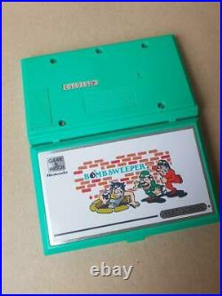 Nintendo Game & Watch Bombsweeper Boxed Rare Retro and Vintage 1980's BD-62