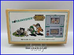 Nintendo Game&Watch Bombsweeper OVP TOP Zustand vollständig BD-62