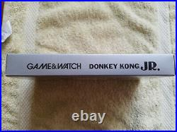 Nintendo Game & Watch Boxed Donkey Kong Jr. New Wide Screen DJ-101 BRAND NEW NOS
