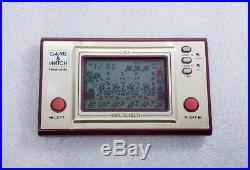 Nintendo Game & Watch CHEF 1981 Used Tested and works well Japan