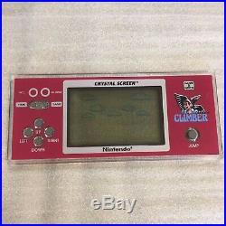 Nintendo Game & Watch CLIMBER DONKEY KONG HOCKEY Crystal screen set RARE
